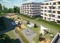 Wizualizacja Megapolis inwestycja ul. Banacha Osiedle OZON Etap 4
