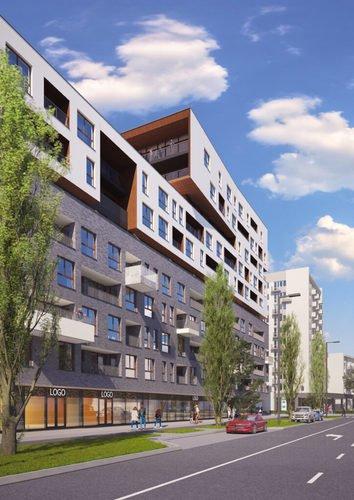 Wizualizacja Tętnowski Development inwestycja ul. Lea / al. Kijowska Krowodrza Park - bud. A
