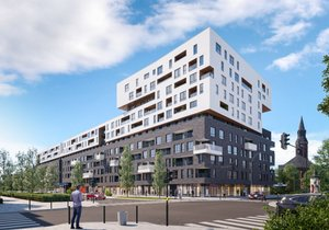 Tętnowski Development mieszkanie w inwestycji ul. Lea / al. Kijowska Krowodrza Park - bud. B
