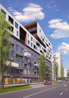 Wizualizacja Tętnowski Development inwestycja ul. Lea / al. Kijowska Krowodrza Park - bud. B