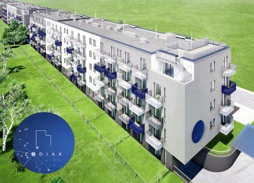 Wizualizacja Grupa Orion Investment S.A. inwestycja ul. Domagały Osiedle Zodiak - etap I (bud. 41)