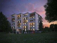 Wizualizacja Grupa Deweloperska START inwestycja ul. Macedońska 15 Słoneczna Macedonia
