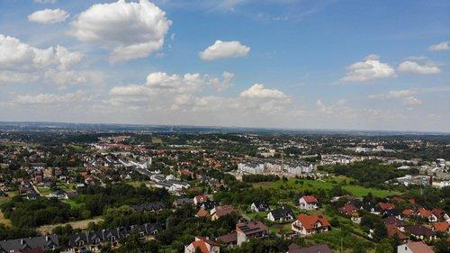 Budowa Techniq inwestycja Grabówki, Wieliczka Panorama Krakowa - domy