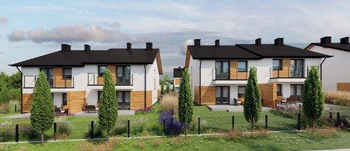 Wizualizacja Techniq inwestycja Grabówki, Wieliczka Panorama Krakowa - domy