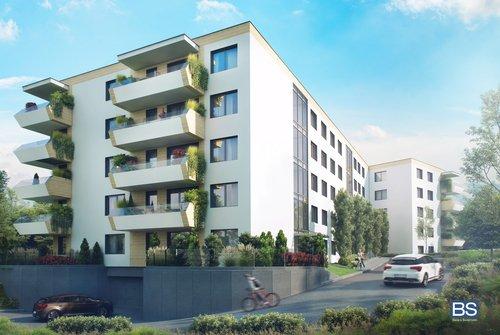 Wizualizacja BAL-BUD Investment Reduta Sp. z o.o. Sp. komandytowa inwestycja ul. Woźniców Apartamenty przy Parku Woźniców