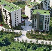 Wizualizacja Stylhut Plus sp. z o.o. inwestycja ul. Lasówka Osiedle Lasówka - bud. C