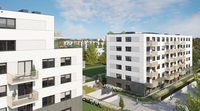Wizualizacja Henniger Investment S.A. inwestycja ul. Banacha Mieszkaj w Mieście - Zacisze Banacha