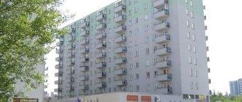 Krowodrza Górka, ul. Fieldorfa-Nila 17Termin realizacji: III kwartał 2004Budynek dziewięciopiętrowy, dwukatkowy o łącznej powierzchni użytkowej mieszkań wynoszącej ok. 4000 m2. W usytuowanym na parterze pawilonie handlowo-usługowym znajdują się lokale użytkowe o łącznej powierzchni ok. 1200 m2.