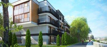 """Apartamentowiec """"W Residence"""" przy ul. Czarodziejskiej 3 w Krakowie"""