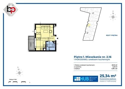 Plan Budopol Sp. z o.o. mieszkanie w inwestycji ul. Klementyny Hoffmanowej Twoje Dobre Miejsce