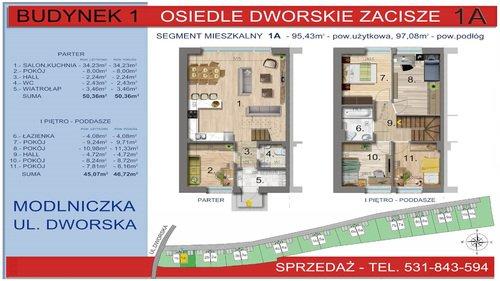 Plan Twój Dom TD Group Sp. z o.o. dom w inwestycji Modlniczka, ul. Dworska Osiedle Dworskie Zacisze