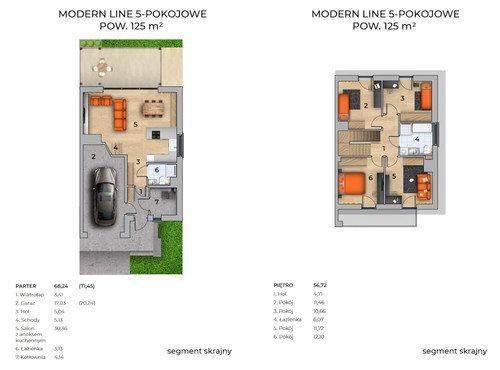Plan Techniq dom w inwestycji Grabówki, Wieliczka Panorama Krakowa - domy
