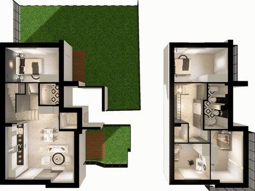 Plan Imperial Capital Sp. z o.o. mieszkanie w inwestycji ul. Ks. Stanisława Truszkowskiego Imperial Green Park Villa II