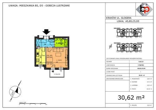 Plan Budopol Sp. z o.o. mieszkanie w inwestycji ul. Glogera Glogera