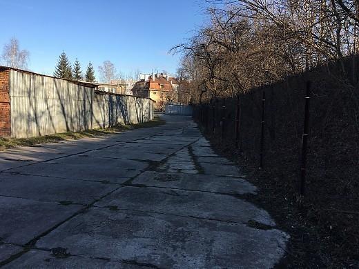 Działka na wynajem Kraków Centrum / Śródmieście Fabryczna / Cystersów